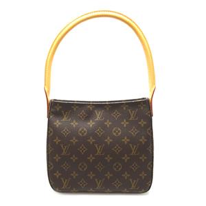 Louis Vuitton Looping MM Women's Handbag M51146 Monogram Canvas Brown DH57063