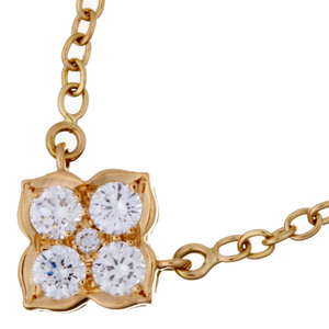 Cartier Hindu Diamond Ladies Necklace 750 Yellow Gold DH56978