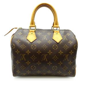 Louis Vuitton Speedy 25 Ladies Handbag M41528 Monogram Canvas DH56998