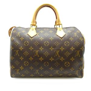 Louis Vuitton Speedy 30 Ladies' Men's Handbag N41526 Monogram Canvas Brown DH57000