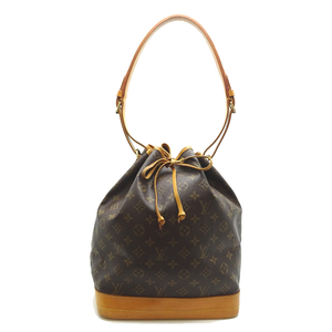 Louis Vuitton Noe Ladies Shoulder Bag M42224 Monogram Canvas Brown DH57117