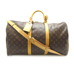 Louis Vuitton Keeperband Lierre 50 Women's Men's Boston Bag M41416 Monogram Canvas DH57118