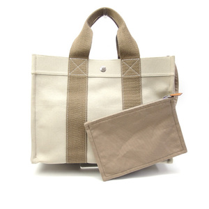 Hermes Bora PM Handbag Beige x Light Brown 20200501