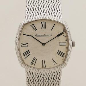 Jaguar Lecoultre K18WG Men's watch Manual winding 20200410