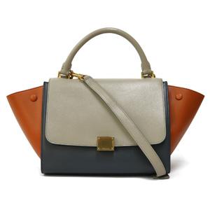 CELINE Celine Shoulder Bag Handbag Trapeze Ladies Men's