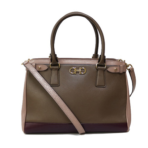 Salvatore Ferragamo Shoulder Bag Handbag Ladies Men's