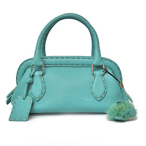FENDI mini doctor bag mint green handbag 25-12898 ladies