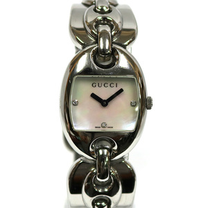 GUCCI Gucci SS Watch 121.5 Stainless Steel 12518944 Pink Ladies Men's