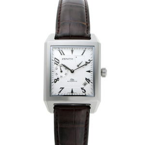 ZENITH Zenith Port Royal Power Reserve Automatic 03.0550.685 Silver Dial SS 1910399