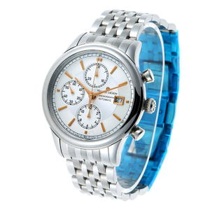 MAURICE LACROIX Maurice Lacroix Classic Chronograph Automatic Watch LC6158-SS002-130 Silver Dial SS 1910262