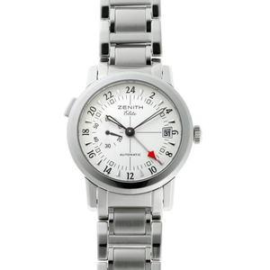 ZENITH Zenith Elite Port Royale GMT Automatic 01 02.0450.682 Silver Dial SS 1910394