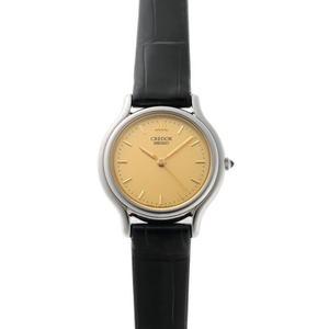 SEIKO Seiko Credor Quartz GSAS051 4J81-0A40 Gold Dial SS 1910523