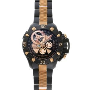 ZENITH Defy Extreme Tourbillon Automatic Watch 96.0528.4035 21.M528 Black TI PVD RG