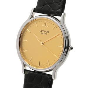 SEIKO Seiko Credor Signo Quartz GCAR051 8J81-6A30 Gold Dial SS 1810507