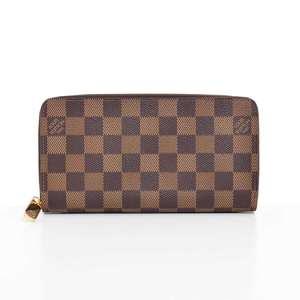 ■ BR Rakuichi Main Store LOUIS VUITTON Louis Vuitton Damier Zippy Wallet Brown