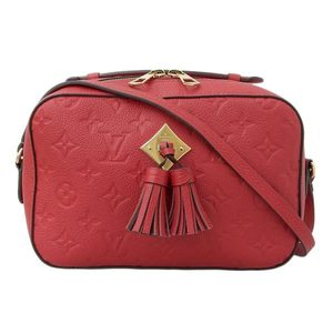 Genuine LOUIS VUITTON Louis Vuitton Anplant Saintonge 2WAY Shoulder Bag Cherry Berry Leather