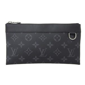 Genuine LOUIS VUITTON Louis Vuitton Eclipse Pochette Discovery PM M44323