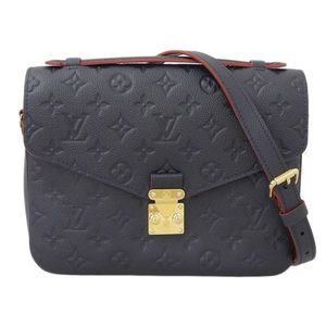Genuine LOUIS VUITTON Louis Vuitton Anplant Metis 2WAY handbag Marie Noulouge M44071 leather