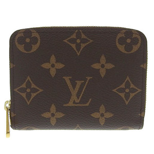 Genuine LOUIS VUITTON Louis Vuitton Monogram Zippy Coin Purse M60067
