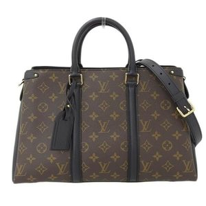Genuine LOUIS VUITTON Louis Vuitton Monogram Sufflo NV MM 2WAY Handbag M44817 Leather