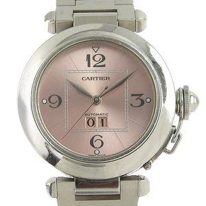 CARTIER Pasha C Big Date Boys Automat Wrist Watch W31058M7