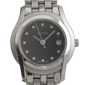 GUCCI Gucci 11P Diamond Ladies Quartz Wrist Watch 5500L
