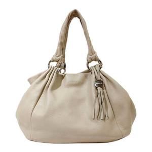 Furla Handbag Tote Bag with Full Ruffled Charm