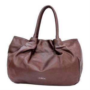 FURLA full tote bag brown