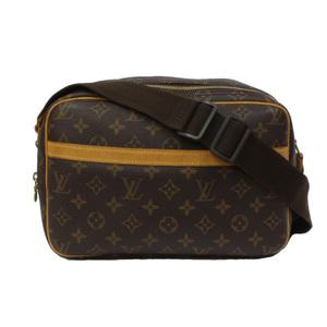LOUIS VUITTON Louis Vuitton Shoulder Bag Monogram Reporter PM M45254 Ladies Men