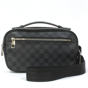 LOUIS VUITTON Louis Vuitton Body Bag Handbag Damier Graphite Ambler N41289 Ladies Men