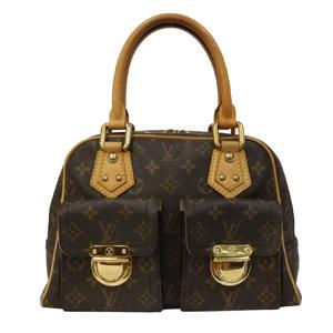 LOUIS VUITTON Louis Vuitton Handbag Monogram Manhattan PM M40026 Women's Men's