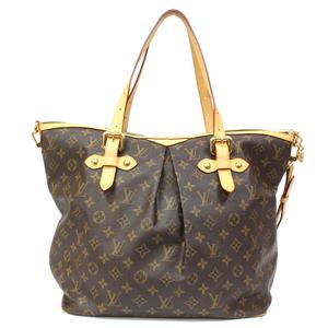 LOUIS VUITTON Louis Vuitton Shoulder Bag Handbag Monogram Palermo GM M40146 Ladies Men