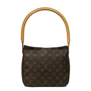 LOUIS VUITTON Shoulder Bag Monogram Looping MM Women Men