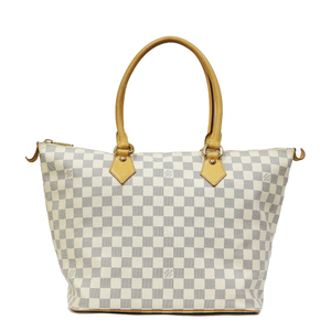 LOUIS VUITTON Louis Vuitton Handbag Damier Azur Saleya MM Ladies Men's