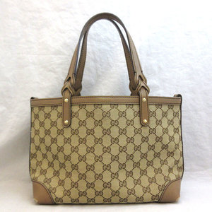Gucci Bag GG Canvas Tote Shoulder 269878 GUCCI Women