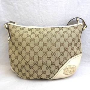 Gucci bag GG canvas shoulder 169998 Ladies GUCCI