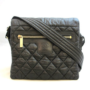 Chanel Bag Coco Cocoon Small Shoulder Nylon Black Mark CHANEL Women