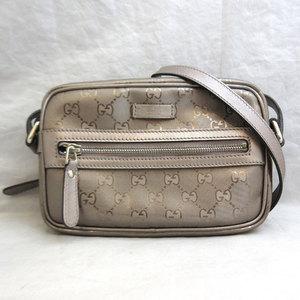 Gucci bag GG improv PVC shoulder ladies 201447 GUCCI