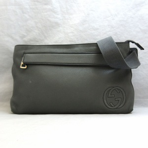Gucci bag waist pouch soho leather one shoulder 322827 GUCCI mens