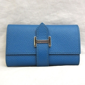Hermes Bear 4 Key Case Vaud Epson Ladies HERMES