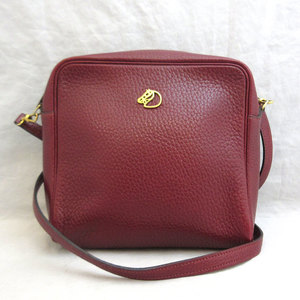 Hermes Bag Jockey Vintage Shoulder Leather Ladies HERMES