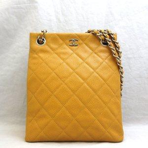 Chanel Bag Matrasse Caviar Skin Silver Hardware Coco Mark Chain Shoulder Ladies CHANEL