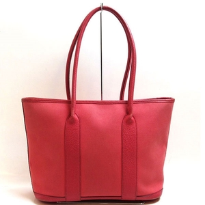 Hermes Bag Garden Zip PM Tote Toile Officier Bougainvillea Ladies HERMES