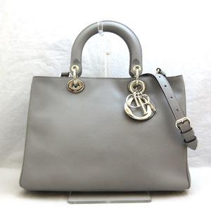 Christian Dior Bag Shoulder Diorissimo 2WAY Leather Ladies