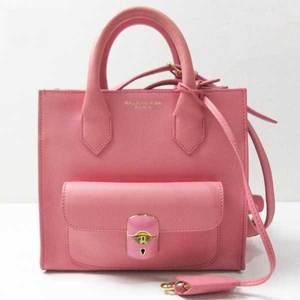 Balenciaga Bag Padlock Mini All Afternoon 2way Hand Shoulder Calfskin Pink 319499 5510 BALENCIAGA