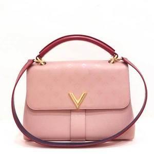Louis Vuitton Bag Hand Shoulder Very One Handle 2way Monogram Leather Mastic Lezan Pink M42904 Ladies LOUISVUITTON