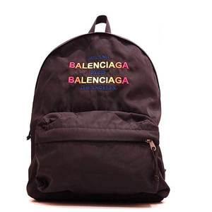 Balenciaga Bag Rucksack Backpack Explorer Gradient Nylon Black 503221 Men Women BALENCIAGA