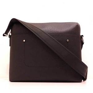 Louis Vuitton Bag Shoulder Grigori Messenger PM Taiga Ardoise Black M30238 Men's LOUISVUITTON