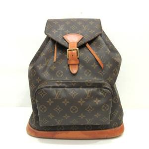 Louis Vuitton Monsuri GM Brown Rucksack Backpack Ladies Men Monogram M51135 LOUISVUITTON