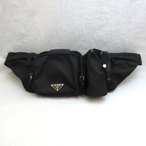 Prada bag nylon waist body black VA0056 PRADA